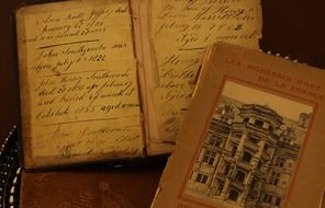 antique family books