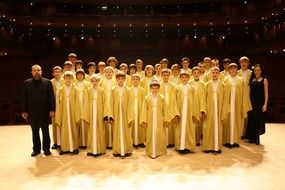 performance of Czech Boys\' Choir