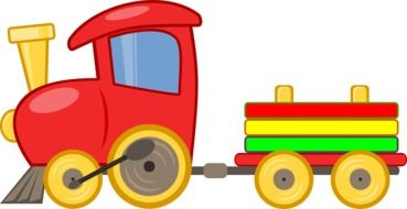 toy train cartoon drawing