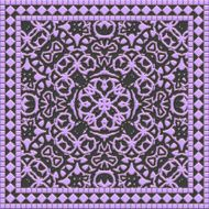 Decorative tile generated texture