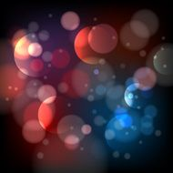 Defocused bokeh lights background