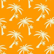 Seamless pattern palm trees N3