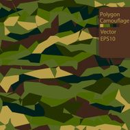 Army Polygon Camouflage pattern