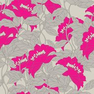 Seamless pattern with floral ornament - Illustration N4