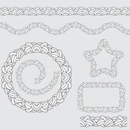 Repeating Rope Pattern Icon N2