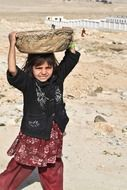 afghani girl child labor