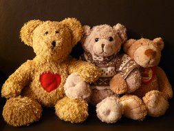 teddy bears toys