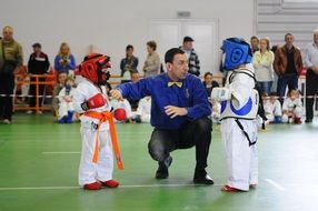 children karate competitions