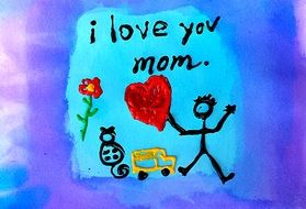 greeting cars for a mom