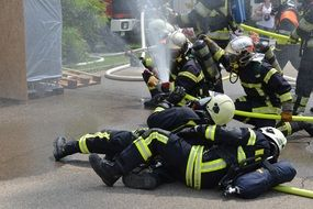 fire extinguishing using hydrants