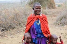massai people in tanzania