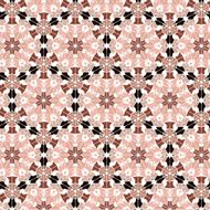 Lace floral ethnic ornament seamless pattern N4