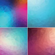 Colourful mosaic abstract backgrounds