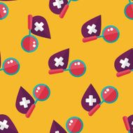 find blood flat icon eps10 seamless pattern background N2