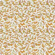 colorful fallen leaves and branches seamless pattern autumn background N2