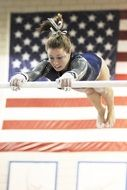 female performance gymnastics