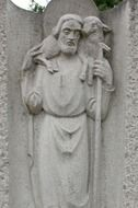 saint Christophorus relief