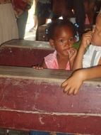 Carribean Dominican kids