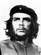 black-white portrait of che guevara
