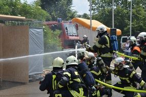fire fighting exercises