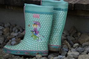 girl's rubber boots