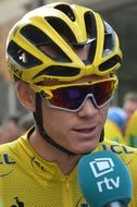 chris froome in yellow jerseys interview