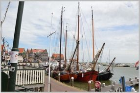 Holland Netherlands harbor