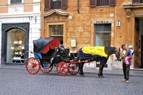 italy carriage
