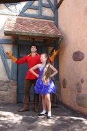 gaston handsome man disney red