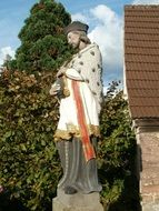 st nepomuk sculpture
