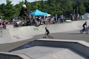 sport bmx competition in Germany