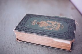 photo of old antique book