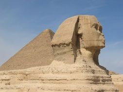 Sphinx pyramid in Cairo,Egypt