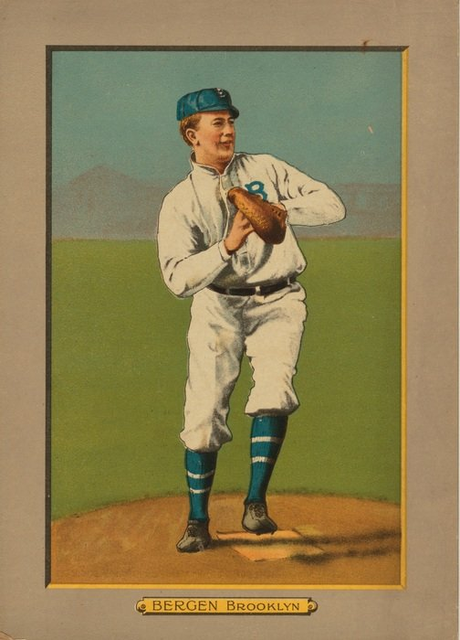 old fashioned baseball cards