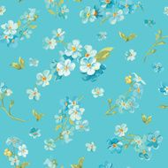 Spring Blossom Flowers Background N2