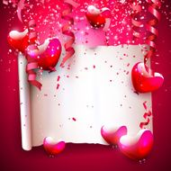 valentine's day greeting card N18