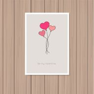 valentine's day greeting card N20