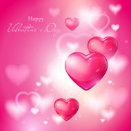 Valentine's Day Abstract Background N3
