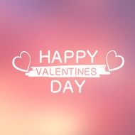 Abstract background with text for st Valentine's day N3