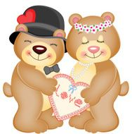 Love Heart Teddy Bears