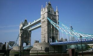 tower bridge in the capital of great britain