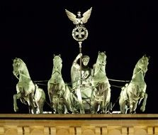 quadriga on brandenburg gate