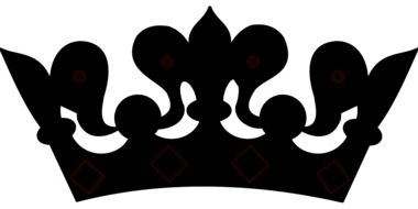 black royal crown
