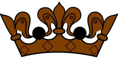 brown royal crown
