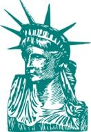 statue of liberty sketch