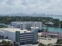 landscape of miami beach in Florida