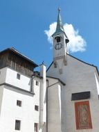 church of the hohensalzburg fortress in Austria