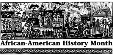 african american history month poster drawing