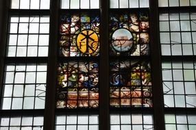 Holland church window glass