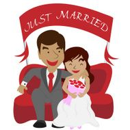 Just Married Couple N2